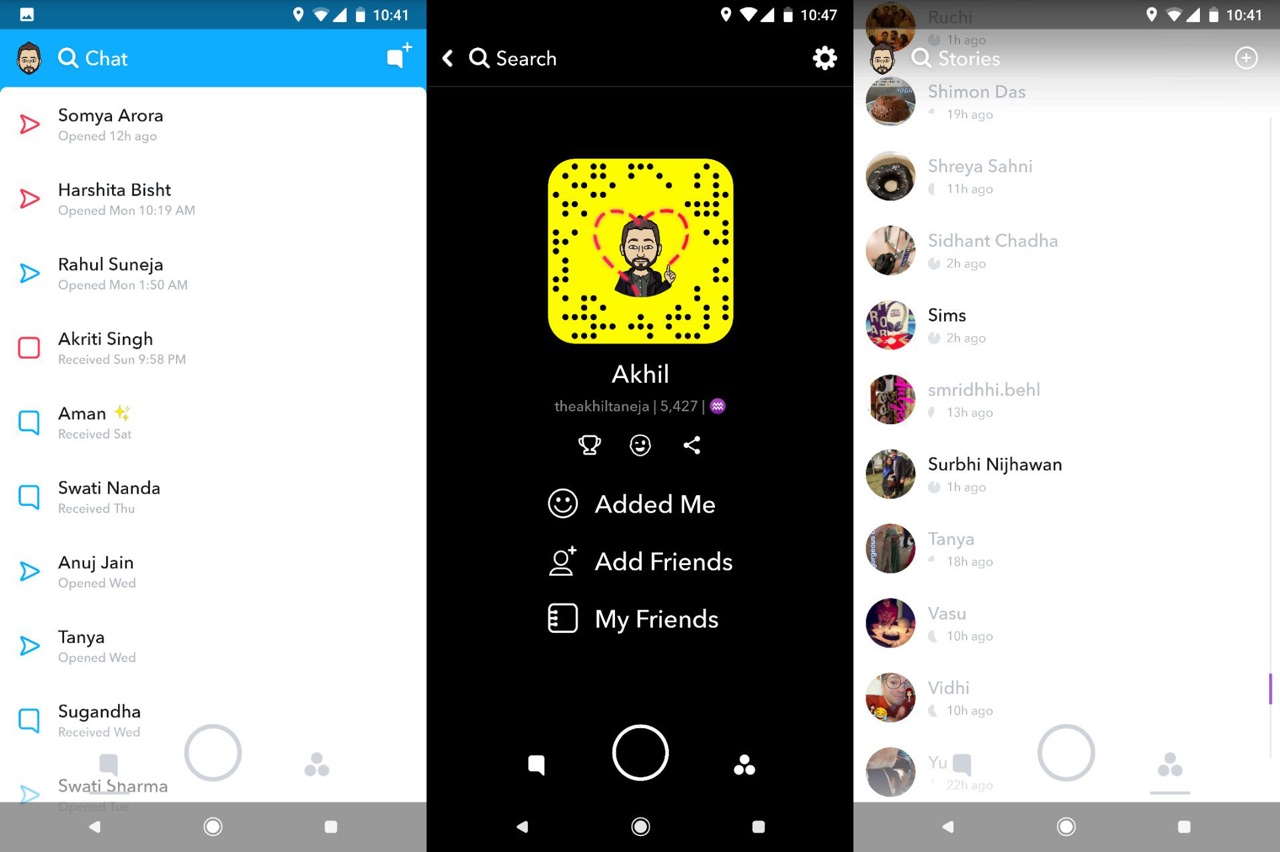 ancienne version snapchat 10.22.7.0