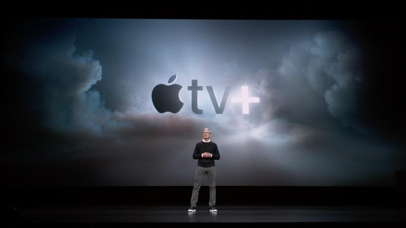 Apple TV+ announcement