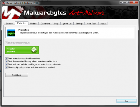 Counter That: Malwarebytes Anti Malware Review scanner protection phising MBAM Malwarebytes Malware credit card fraud antivir Anti Malware