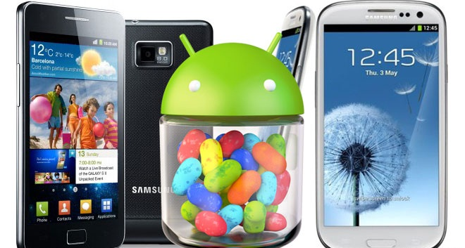 News: Jelly Bean update for the Galaxy S III and S II coming next month? Samsung Rumor Galaxy S III Galaxy S II Firmware Update August Android 4.1 Jelly Bean Android