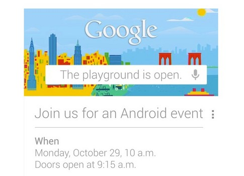 News: Google sends out invitation for its Android Event on October 29 Google Event Google Android Google Android