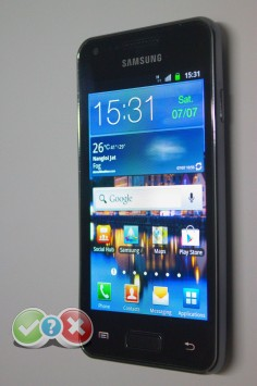 Review: Samsung Galaxy S Advance GT I9070 Samsung GT i9070 Galaxy S Advance