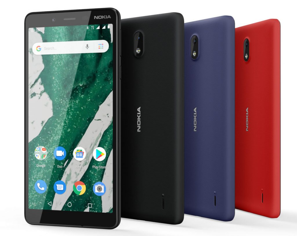 Nokia 1 Plus Android Pie (Go Edition) 4G VoLTE announced at MWC 2019