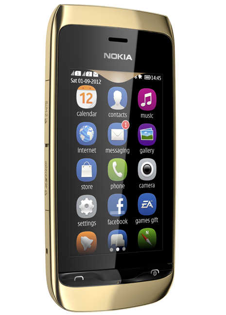 News: Nokia unveils their new dualsim Asha 308 and Asha 309 touch devices Nokia Asha Touch Asha 309 308