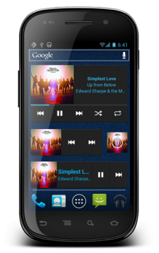 News: CyanogenMod 9 Music App Revealed Music app Market Cynogen CM9 cm7 Apps Applications android 4.0
