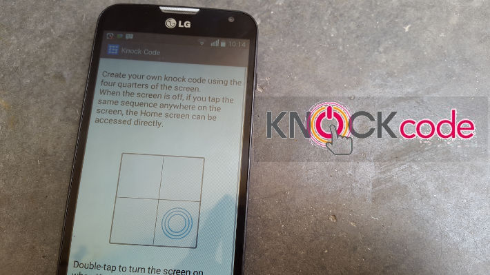 LG Knock Code: Mobile security at convenience