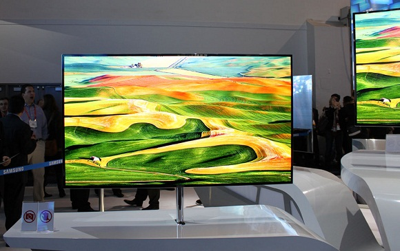 News: Samsungs new 55 inch OLED TV to launch in the UK this spring UK Samsung OLED TV CES Availability 55 inch TV 55 inch OLED TV 3D TV